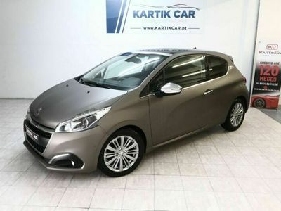 usado Peugeot 208 1.6 Bluehdi Allure Carbon Edition Full Leather