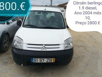 usado Citroën Berlingo 1.9 diesel comercial