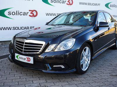 usado Mercedes E250 CDI BlueEffiency Avantgarde Cx. Aut. (204 CV)