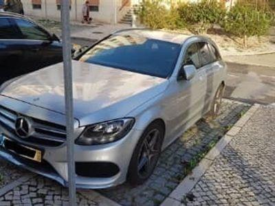 usado Mercedes C200 ClasseBlueTEC AMG (136cv) (5p), Diesel