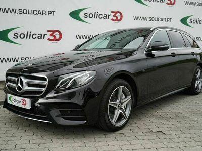 usado Mercedes E300 Station de Diesel/Electrico AMG Line Cx. Aut. 9 Vel.(306 CV)