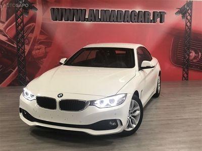brugt BMW 420 Série 4 d Cabrio Line Sport Aut. (184cv) (2p)