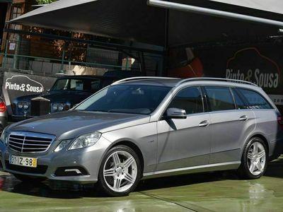 usado Mercedes E350 CDI Avantgarde Auto Station 7Lug.