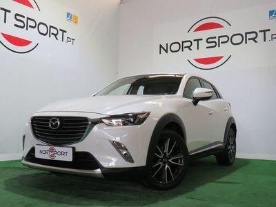 usado Mazda CX-3 1.5 sky EXCE HT L WHITE NAVI
