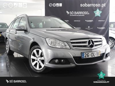 begagnad Mercedes C200 Station CDI Blueefficiency