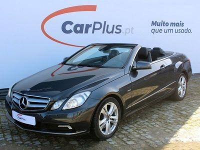 usado Mercedes 350 Classe E CabrioCDI BlueEfficiency Auto