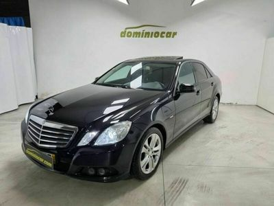 usado Mercedes E250 CDi Elegance BlueEfficiency Auto.