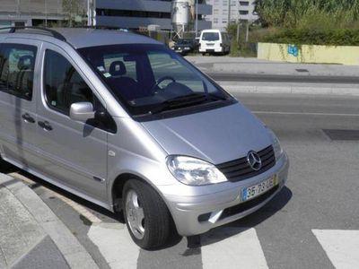 usado Mercedes Vaneo 1.7 Diesel Ambiente