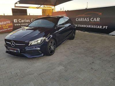 usado Mercedes CLA220 Shooting Brake D AMG Line / Automático / Panorâmico e de abrir electrico
