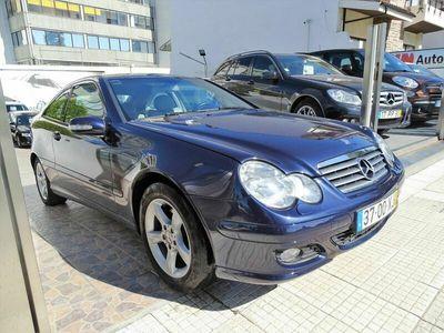 usado Mercedes C220 CDI SPORTCOUPE NACIONAL 150 CV