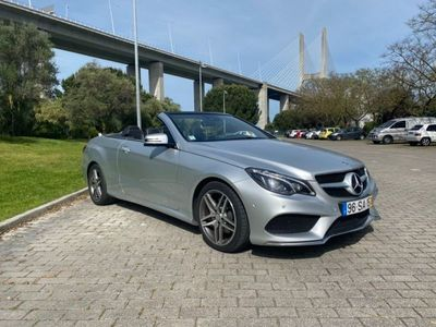 usado Mercedes E220 AMG • Caixa Automática 9G