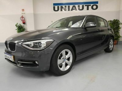 usado BMW 118 D | LINE SPORT | CX.AUTOMATICA | XENON