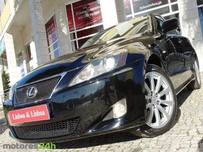 usado Lexus IS220d Luxury 7P (177cv) (4p)