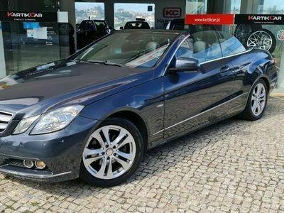 usado Mercedes E220 CDi Avantgarde BlueEfficiency