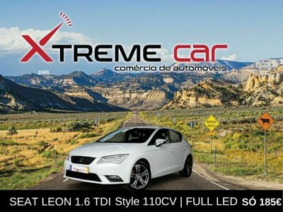 usado Seat Leon 1.6 TDI Style 110CV   FULL LED