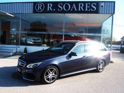 usado Mercedes E350 BlueTec Avantgarde BE 147g (252cv) (5p)