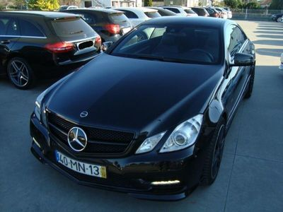 brugt Mercedes E250 CDI AMG COUPE