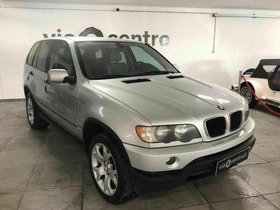 usado BMW X5 3.0 D AUTO. C/GPS, PELE, CÂM. TRAS.