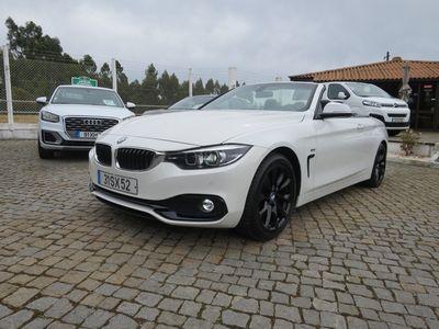 usado BMW 420 d Cabrio Line Sport Auto (GPS)