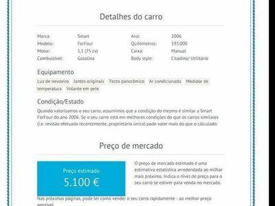 gebraucht Smart ForFour Passion 1100 75cv 5p