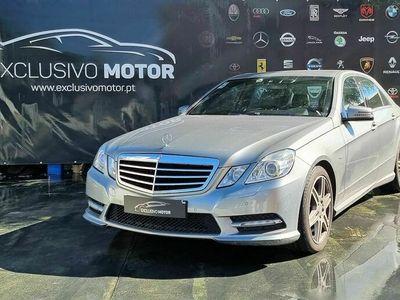 usado Mercedes E250 cdi pack m