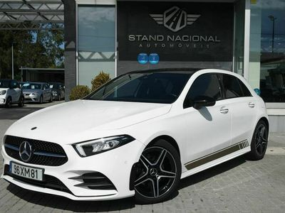 usado Mercedes A180 ClasseD AMG PACK NIGHT AUTO.