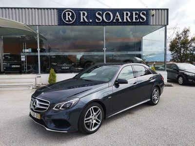 usado Mercedes E250 AMG BlueTEC Avantgarde Aut. (204cv) (4p)