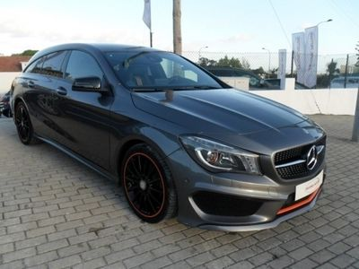 usado Mercedes CLA200 CDi Shooting Break Orange AMG Station