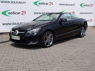 used Mercedes E220 CDI BE Cabrio