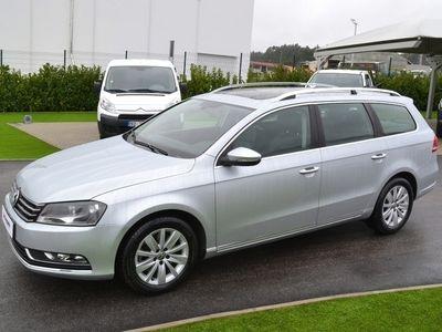 usado VW Passat Variant 1.6 TDi ConfortLine (Pele/GPS/Teto) (64.000 KMS)
