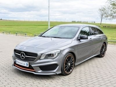usado Mercedes CLA220 Shooting Brake AMG PACK ORANGE