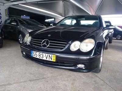 usado Mercedes CLK200 163 cv kompressor