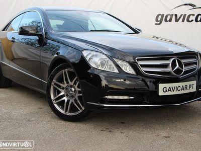 usado Mercedes E220 CDI COUPÉ AVANTGARDE BLUEEFICIENCY *GPS*PELE*XENON* LIVRO REVISÕES NACIONAL