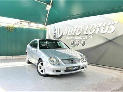 usado Mercedes C220 SPORT COUPE EVOLUTION TECTO PANORAMICO