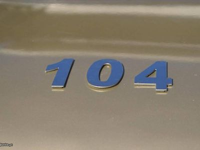usado Peugeot 104 GL 1976