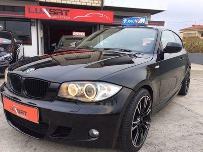 usado BMW 118 d PACK M 143cv de 2012 GPS Bixenon jantes18 Garantia até 3anos