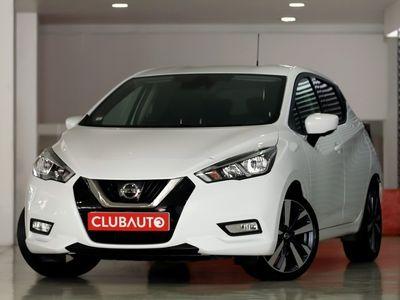 usado Nissan Micra 1.5 DCI TECKNA c/GPS + câmera 360 + JLL17 + Sistema BOSE (novo modelo)