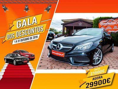 usado Mercedes E220 CDI COUPÉ AMG