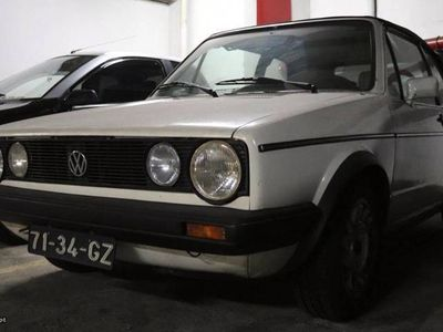 usado VW Golf Cabriolet Mk1 1.6TD