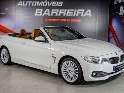 usado BMW 420 d Cabrio Line Luxury Aut
