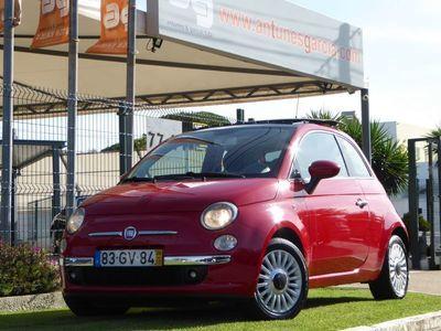 usado Fiat 500 Lounge Teto Panoramico/Abrir