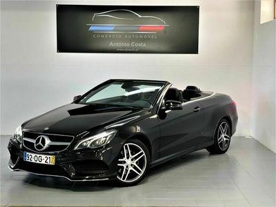 usado Mercedes E220 220d Cabrio