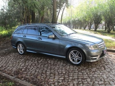 usado Mercedes C220 Classe CCDI BE AMG