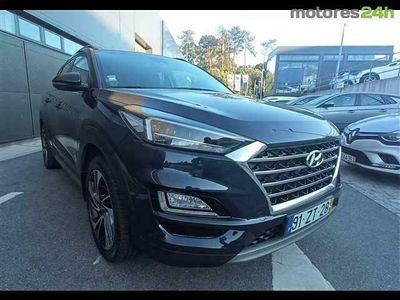 usado Hyundai Tucson 1.6 CRDi Pre.+P.Pele DCT