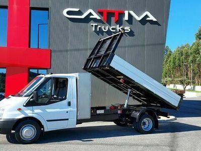usado Ford Transit 2.4 tribasculante 3500kgs