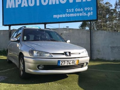 usado Peugeot 306 Break 2.0 td estofos em couro, ac, jll