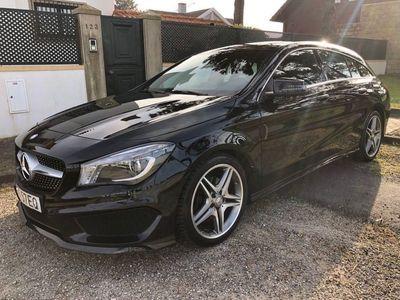usado Mercedes CLA180 CDi AMG Line • 55.048 kms • GPS • REVISÕES TODAS MARCA • Câmera M. Atrás
