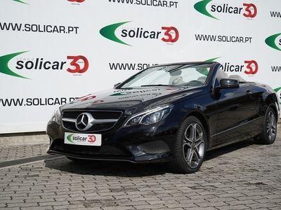 usado Mercedes E220 CDI BlueEFFICIENCY Cabrio 7G-T Cx: Aut. (170 CV)