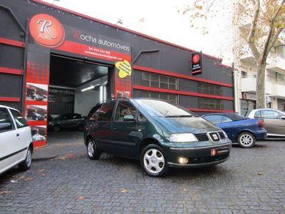 usado Seat Alhambra 1.9TDi 7LUG AC DA VE FC Impecável de Tudo