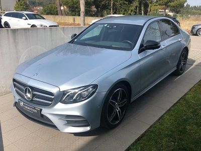 usado Mercedes E220 AMG WIDESCREEN 360º PACK NIGHT